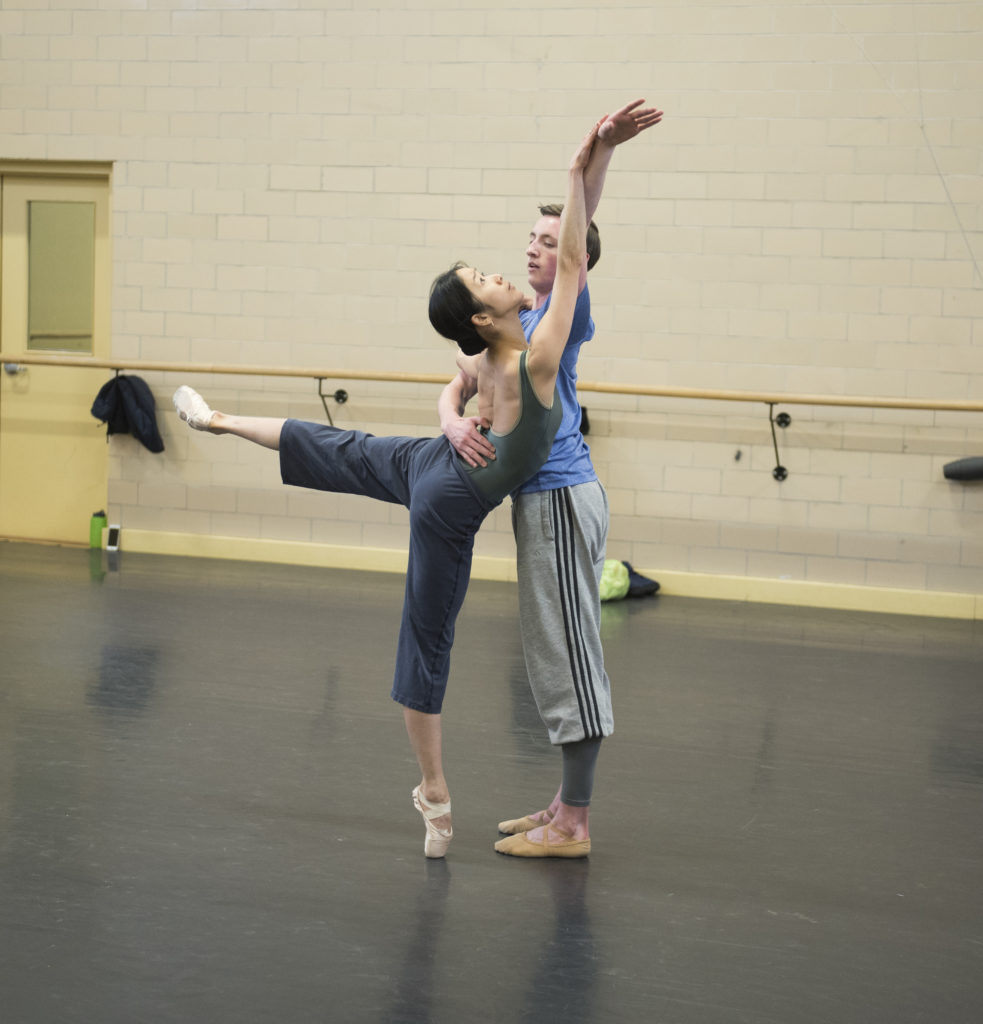 No two dancers at Moncton's Atlantic Ballet Theatre have the same nationality.