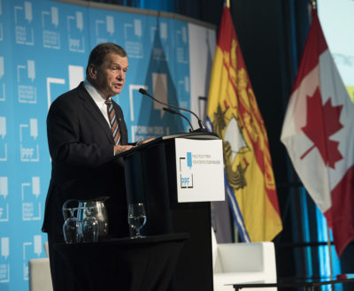 Frank McKenna at the PPF Atlantic Summit 2018