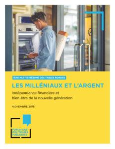 cover FPP - Les milleniaux et l'argent, partie 1