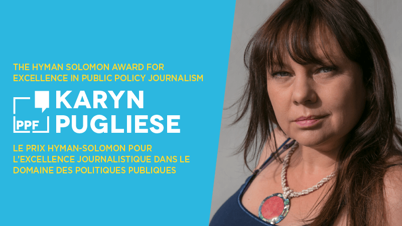 PPF to honour Indigenous journalist Karyn Pugliese with 2019 Hyman Solomon Award