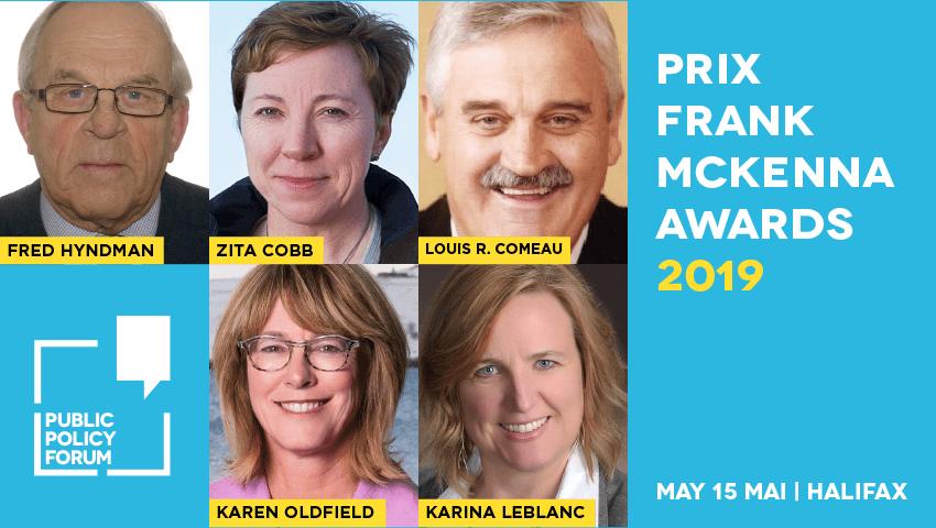 Nous célébrerons nos lauréat(e)s du Prix Frank-McKenna