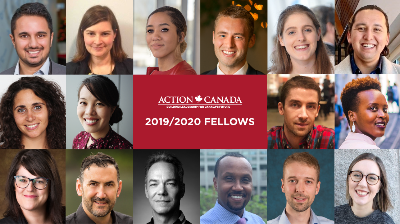 Le FPP et Action Canada présentent les fellows de 2019/2020