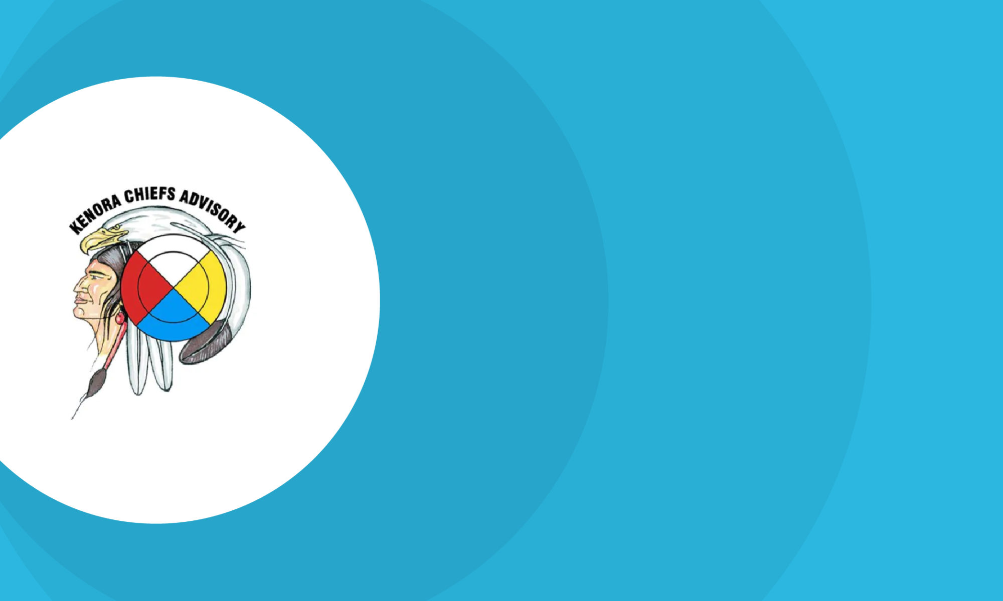 Decorative image including Kenora Chiefs Advisory logo